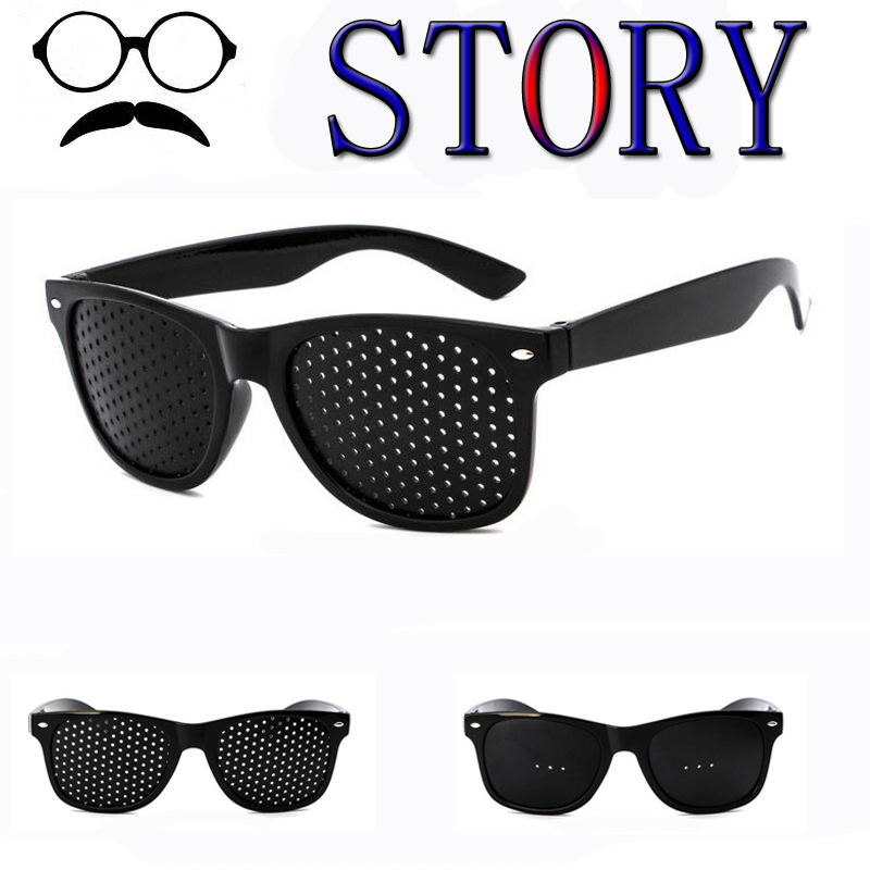 Men Women Pin Hole Sunglasses Vision Care Eye Exercise