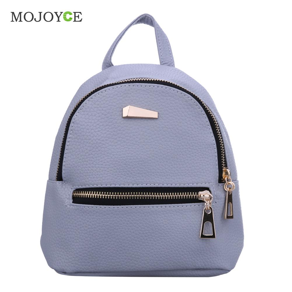 Fashion Women Bag PU Leather Backpack School Bags For Teenagers Backpacks for Teenage Girls Mochila Feminina