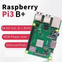 2019 new original Raspberry Pi 3 Model B+ (plug) Built in Broadcom 1.4GHz quad core 64 bit processor Wifi Bluetooth and USB Port