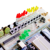Frete Grátis NOVO! versão atualizada para kit arduino Funduino UNO r3 placa de desenvolvimento kit contendo membrana do teclado