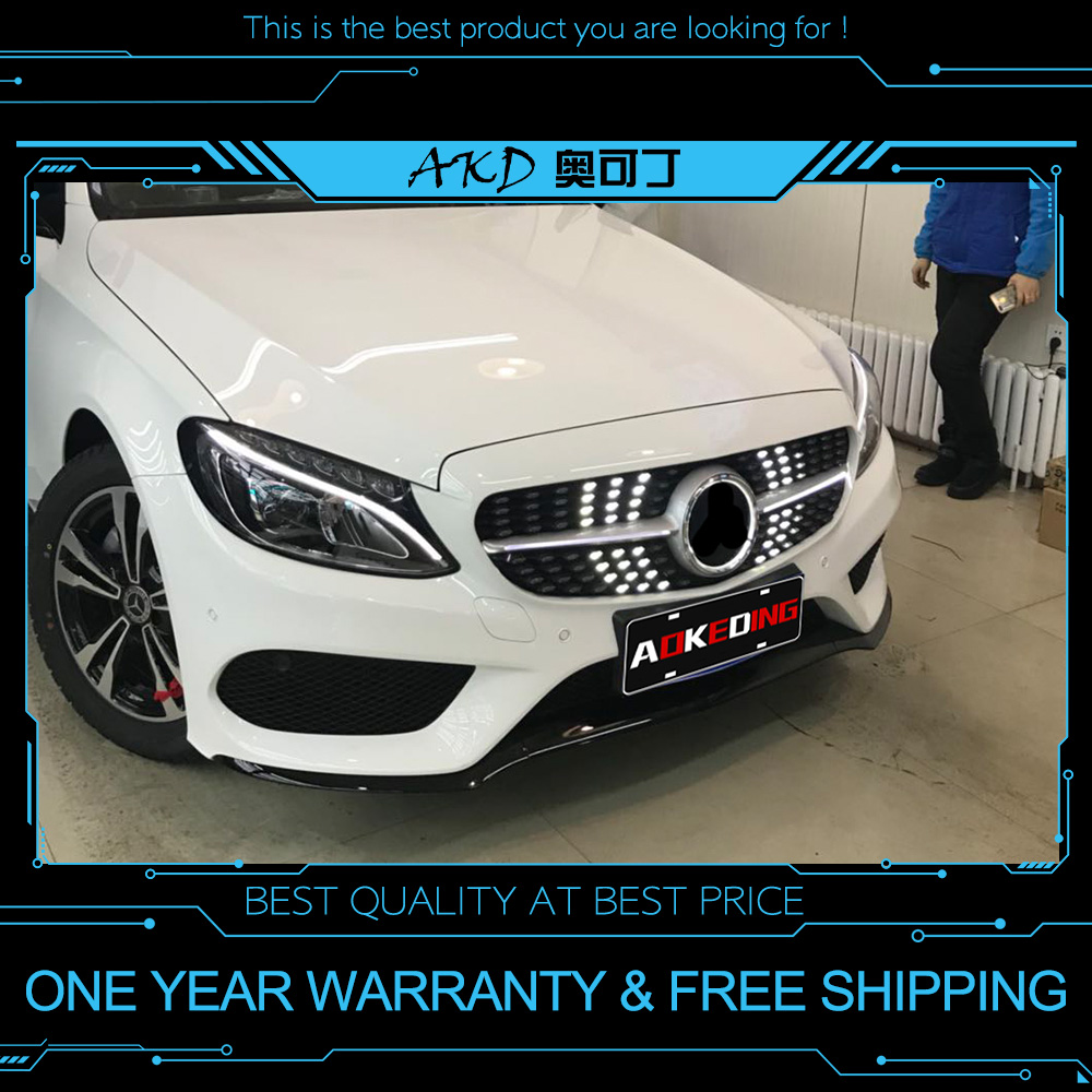 AKD Grille Light For Mercedes Benz E Class W213 2016 2018