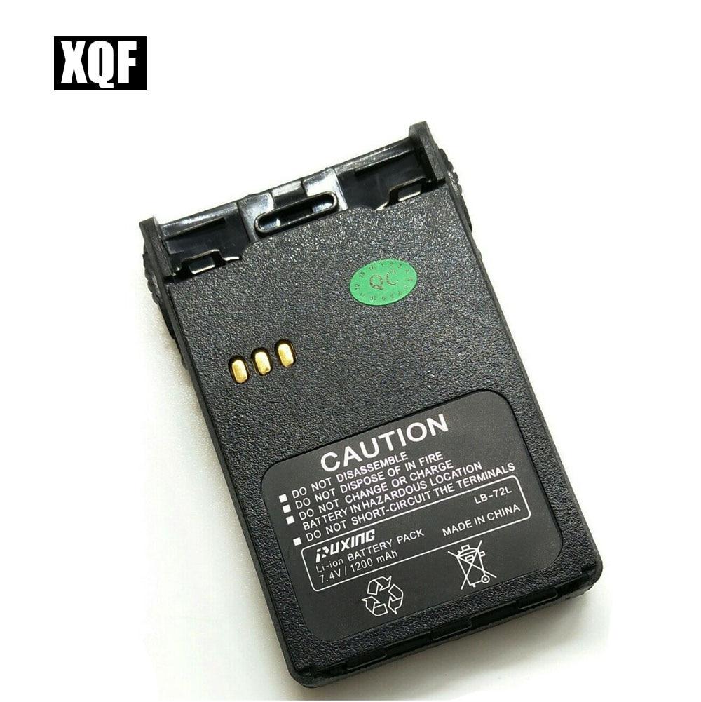 XQF Batteria originale agli ioni di litio 7,4 V 1200 mAh LB-72L per MT-777 Puxing / PX777 / LT-3188 / LT2188 / LT2268 LT3268 / LT3260 radio tyt777
