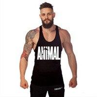 2017 Hot Sprzedaż Odzież Fitness Mężczyzn Podkoszulek Mięśni Mężczyźni Noszą Gymclothing Vest Kulturystyka Podkoszulek Policzkowe Sportowej