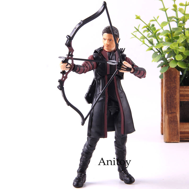 Age Of Ultron Hawkeye Figure Action SHF S.H.F Figuarts Super Hero Marvel Avengers PVC Collection Model Toy image