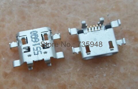 Gimax Lot 100pcs New OEM Charging Connector Micro USB Port Dock Connector For Lenovo Ideapad A8-50 A5500 A5500-F