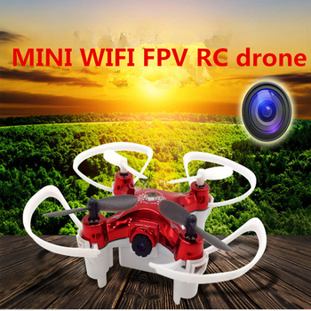 WIFI FPV RC drone quadcopter Popular mini rc drone RC101WH 2.4G with 0.3MP WIFI camera 6-axis gyroscope 3D Stunt LED Light