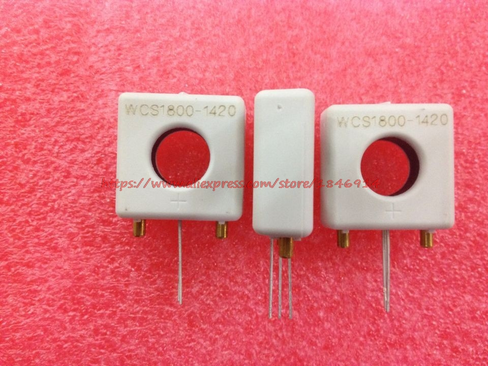 Linearity Of WCS1800 Perforated Current Sensor 60mV/1A