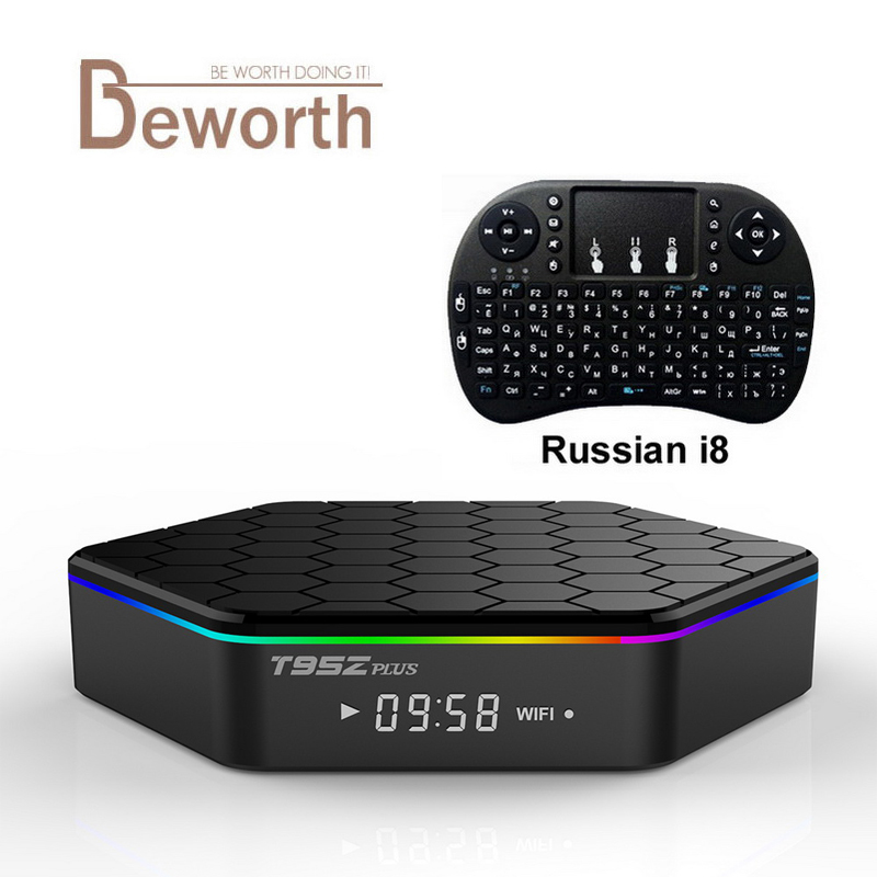 T95z Plus 3GB/32GB Amlogic S912 Android 6.0 Smart Android TV Box Octa-core 2G 16G 2.4/5G WIFI BT4.0 4K H.265 64Bit Set Top Box телеприставка ubox r89 tv box 89 android rk3288 2g 16g t764 gpu bluetooth 4 0 xbmc 2 4 g 5 g wifi h 265 r89 android tv box