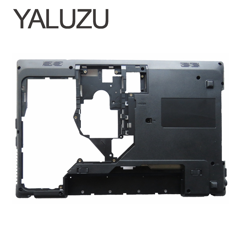 YALUZU New For Lenovo G570 G575 TOP COVER Palmrest Upper Case Bottom Base Chassis D Cover Case shell With HDMI AP0GM000A00 Lower new case cover for lenovo g500s g505s laptop bottom case base cover ap0yb000h00