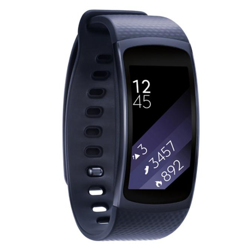 Luxury Silicone Watch Replacement Band Strap For Samsung Gear Fit 2 SM-R360 Wristband wholesaleF3