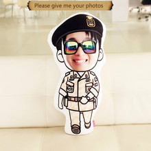 Photo pillow custom tailored star cushion for leaning on of DIY real doll Custom birthday gift to men