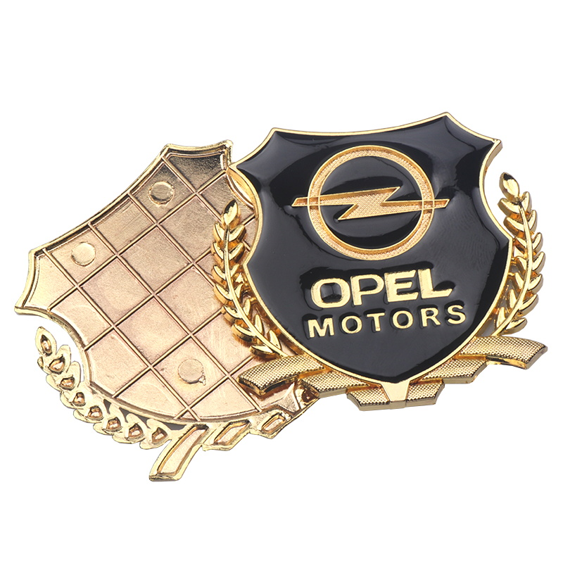 Image 3 - 3D Sticker Auto Emblem Decal For Opel Zafira a b Astra h g j k f Mokka Corsa b c d Vectra Insignia Motors VIP Badge Car Styling-in Car Stickers from Automobiles & Motorcycles
