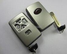 Совершенно Новая Замена Дело С Смарт-Ключа Для Toyota Previa Alphard Prius Смарт-Карта-Ключ Оболочки 5 Кнопки