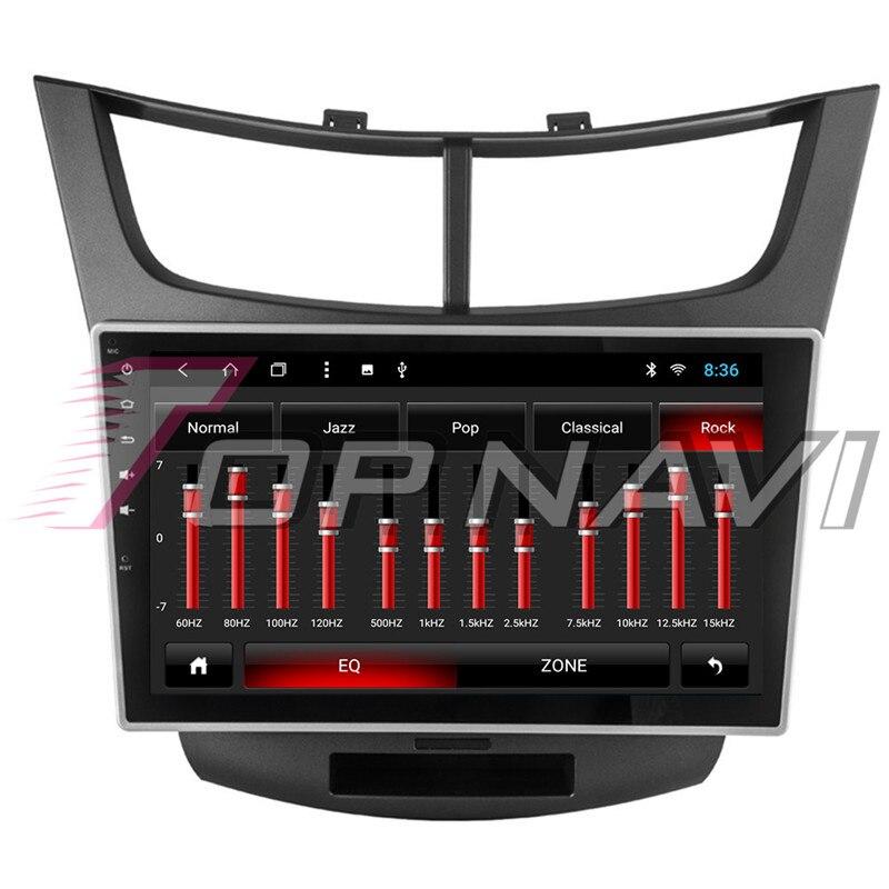 Автомобиля 10,1 ''Нет dvd плеер Android 8,1 для Chevrolet Парус 3 2015 Topnavi автомобильной MP3 MP4 gps навигации Bluetooth телефон - 3