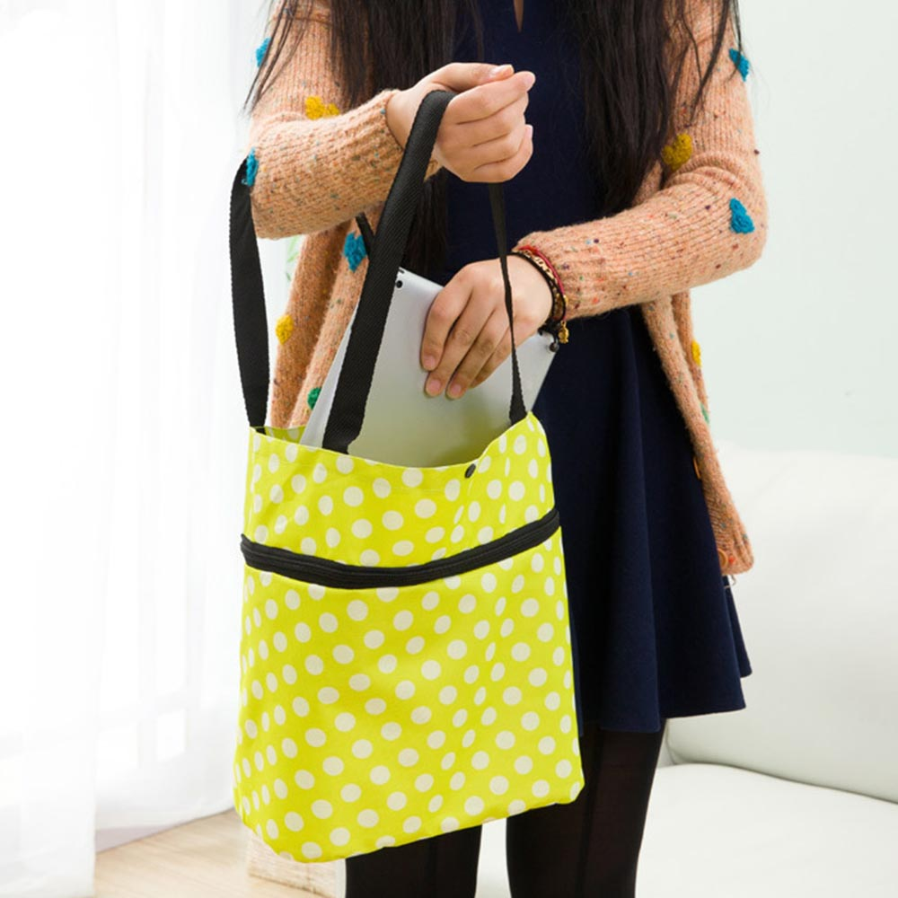 Fashionable Design Large Capacity Waterproof Oxford Cloth Foldable Shopping Trolley Wheel Bag Travel Cart Luggage Bag