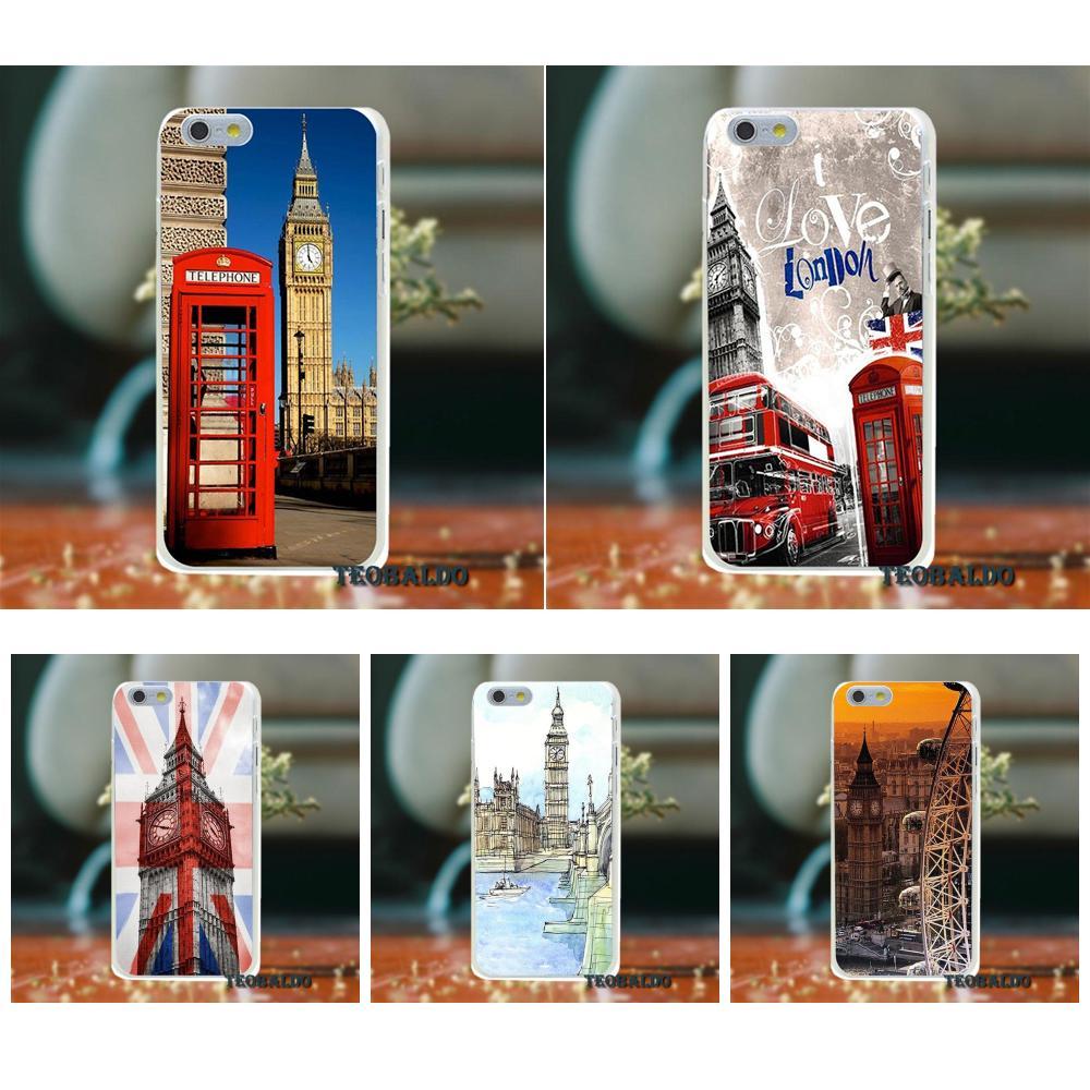 London Red Telephone Big Ben TPU Fashion Cover Case For Xiaomi Redmi 4 3 3S Pro Mi3 Mi4 Mi4i Mi4C Mi5 Mi5S Mi Max Note 2 3 4