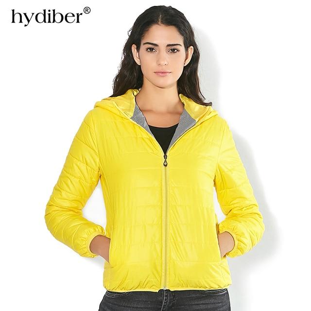 Одноцветное Цвет молнии с капюшоном женщин весенняя куртка 2017, Новая мода осень-зима Тонкий теплый дамы пальто плюс Размеры верхняя одежда