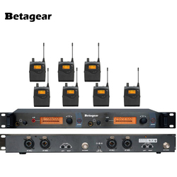 Betagear SR2050 Personal Monitors System 7 receiver Bodypack In-Ear Monitor & Receiver System Stage Performance Studio equipment