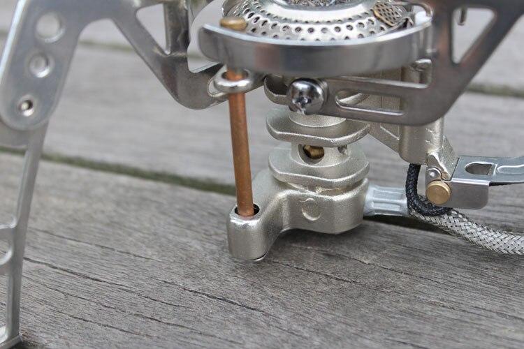 BRS-6 высокая высота газовая плита Открытый походная Плита Портативный Кемпинг посуда для приготовления пищи Пикник газовая печь