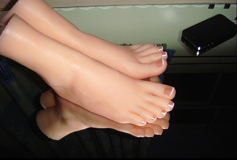 Silicone Sex Doll Siliocne Pussy Fake Silicon Girl Footfetish Feet Fetish Mold Foot Fetish Worship Foot Pussy Toys top quality nice fetish feet fake feet for training foot fetish toys worship foot toys mold lifelike sex doll sex product
