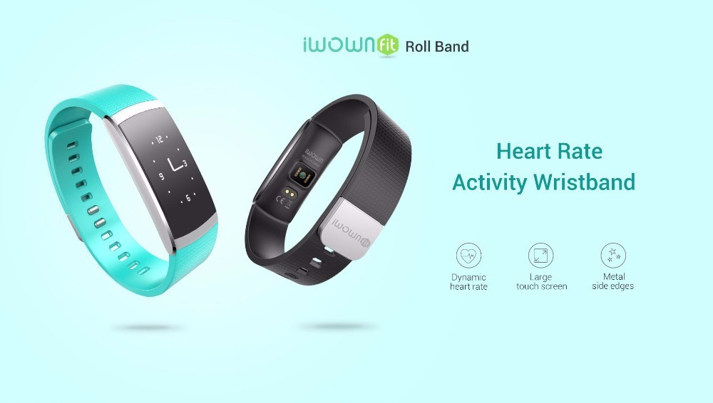 Original iWown i6Pro Smart Band PMOLED Display Heart Rate Monitor Smart WristBand Bracelet Waterproof Android Fitness Tracker 2