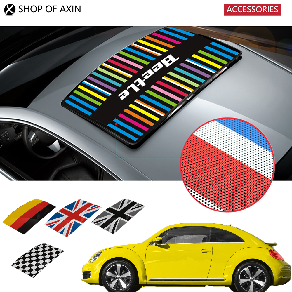 Classic sun roof Graphic stickers Sunroof decoration for 2013-2016 year vw Beetle бампер new sun 2013 4s