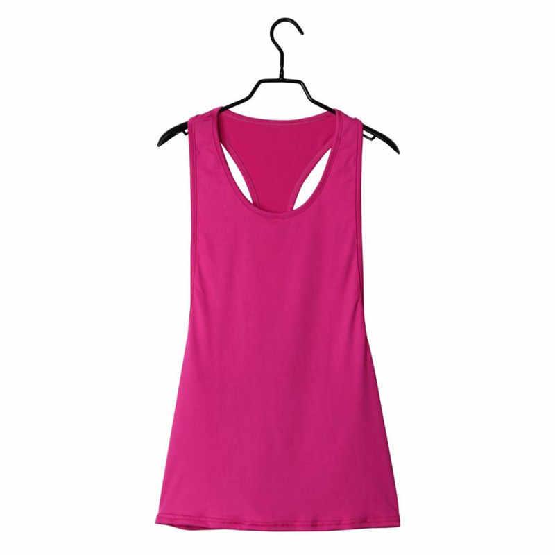 XL-XXL пикантные женские тренажерный зал Бег свободные жилет большой размер крышка bra top спортивная рубашка пот жилет без рукавов для леди Прямая поставка