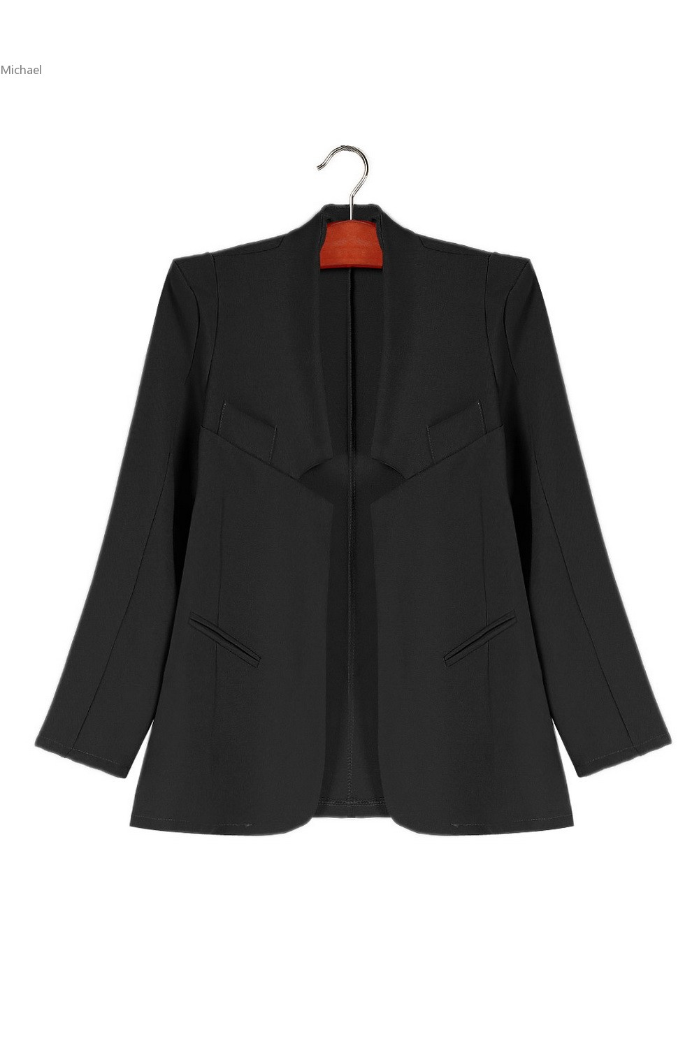 New Arrival Blazer Women Slim Suit Jacket Plus Size Casual Coat Women Blazers And Jackets With Shoulder Pad 51
