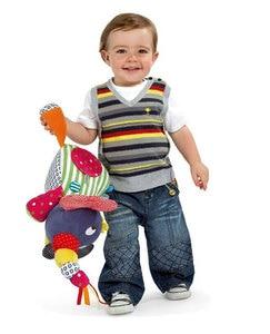 Image 5 - 아기 장난감 0 6 12 개월 아기 소년을위한 봉제 코끼리 교육 완구 침대 유모차에 매달려 1 년