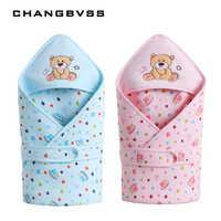 Inverno outono de algodão infantil do bebê saco de dormir envelope para recém-nascido cama do bebê envoltório sleepsack dos desenhos animados cobertor do bebê swaddling