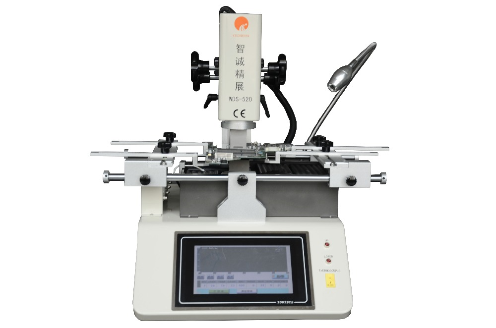 SZBFT Low cost bga rework station for mobile phone repairing Manual infrared mobile repair machine WDS-520 with Samsung/iphone цена