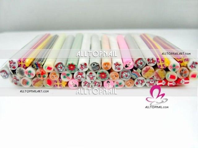 Dhl Free Shipping 2500pcs Nail Decoration Fruit Canes 5mm Nail Art