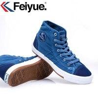 Keyconcept Feiyue nuovo panno di lavaggio maschile e femminile due modelli/stile Europeo scarpe di tela scarpe da uomo