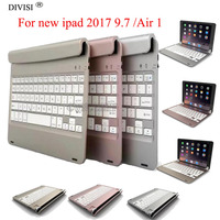 Wireless Bluetooth Keyboard Case For New Ipad 9 7 2017 1822 For Ipad Air 1 Tablet