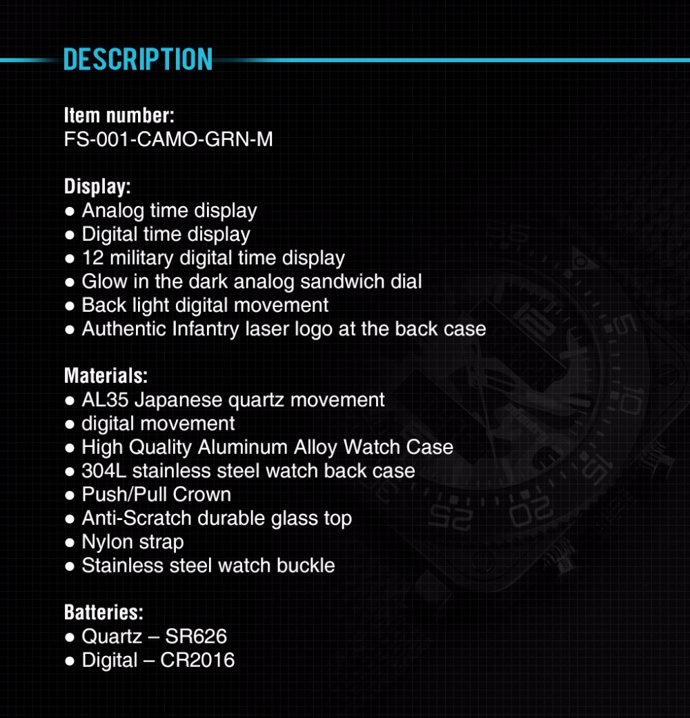 FS-001-CAMO-GRN-M-7