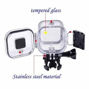 Image 4 - Suptigため行くプロセッション防水シェルケース水中60メートル保護シリコンハウジングボックス移動プロヒーロー5 4セッションアクセサリー