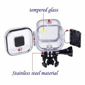 Image 4 - Suptig מקרה פגז עמיד למים מתחת למים 60 M Pro עבור מפגש דיור הגנת קופסא לgopro Hero 5 4 מושב אביזרי