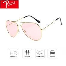 Psacss New Classic Pilot Sunglasses For Women Men Vintage Metal Frame Ocean Lens Womens Brand Designer Sun Glasses gafas de sol