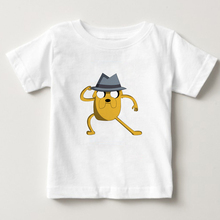 Adventure Time with Finn and Jake T-Shirt  kids Cartoon T Shirt Tees boy/girl O-Neck cotton t shirts summer top shirts 3T-8T  NN все цены