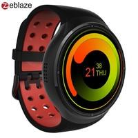 Zeblaze Тор 3g gps Wi Fi умные часы телефон Android 5,1 MTK6580 1 ГБ Оперативная память 16 ГБ Встроенная память сердечного ритма Smartwatch BT 4,0 Носимых устройств