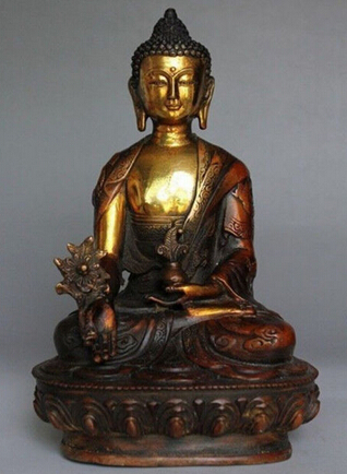Copper Brass CHINESE crafts Asian 21 cm * / Elaborate Chinese Old Tibetan Copper Buddhism Bodhisattva Sakyamuni Buddha StatueCopper Brass CHINESE crafts Asian 21 cm * / Elaborate Chinese Old Tibetan Copper Buddhism Bodhisattva Sakyamuni Buddha Statue