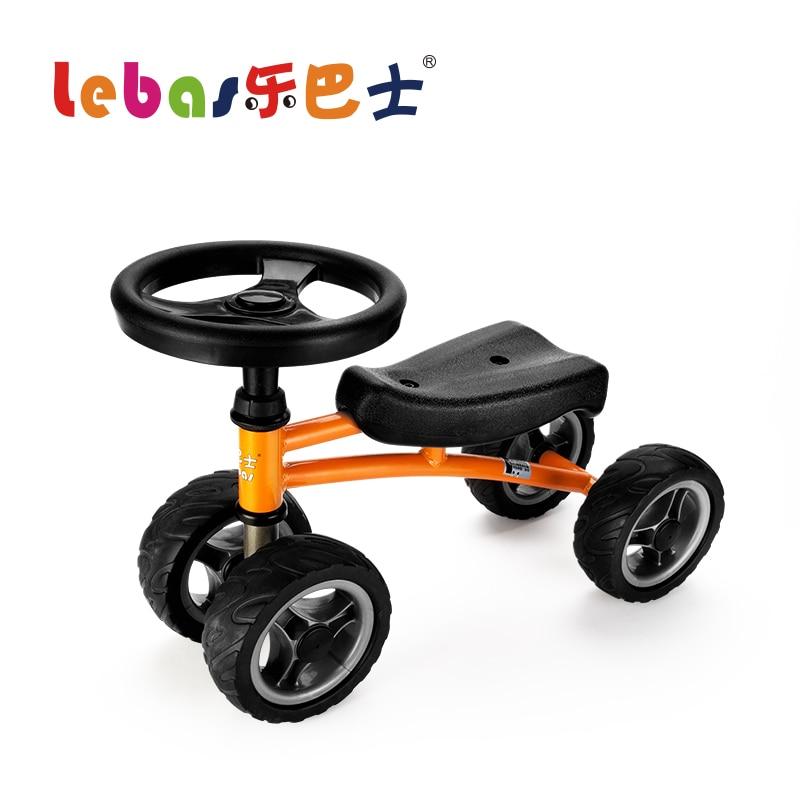 Lebas quatre volant jouet voiture bébé sport équilibrage vélo enfants Tricycle Enfant de Vélo pour 1-3 Ans Bébé Tour sur walker