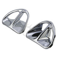 Chrome Fairing Air Intake Accents For Honda GL1800 Gold Wing Airbag ABS Audio