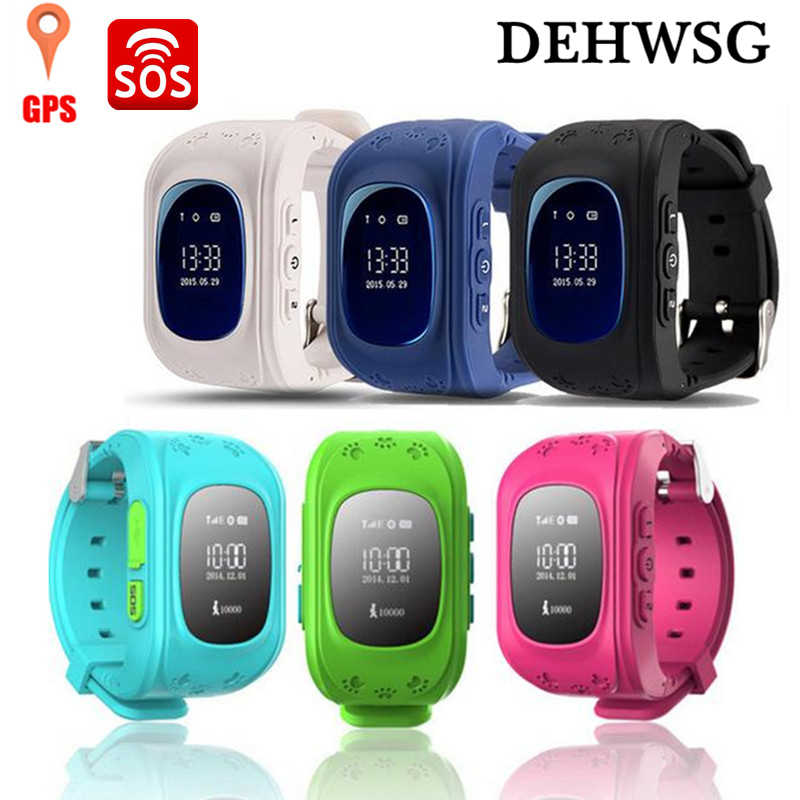 DEHWSG Original Anti Lost Q50 Child GPS Tracker SOS Smart Monitoring Positioning Phone Kid GPS Baby Watch Compatible IOS Android