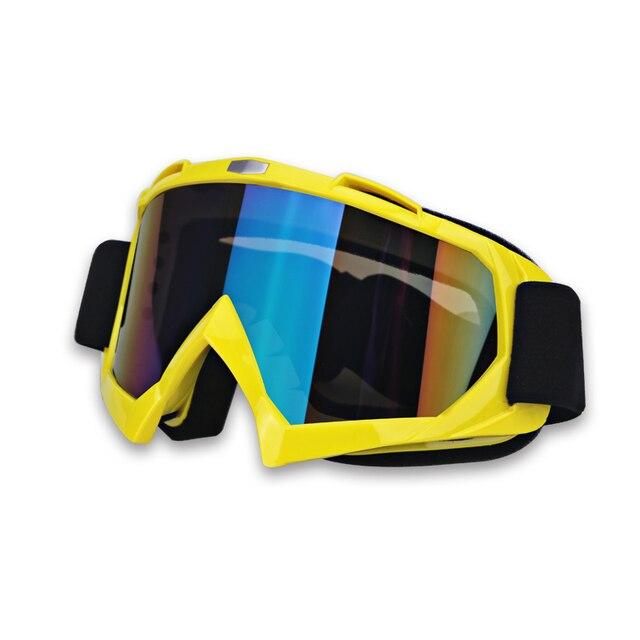 Ski Womens Motorcycle Goggles Glasses Motocross Motorbike Motor Glasses For Men Clear Racing Motorcycle Goggles Helmet Windproof