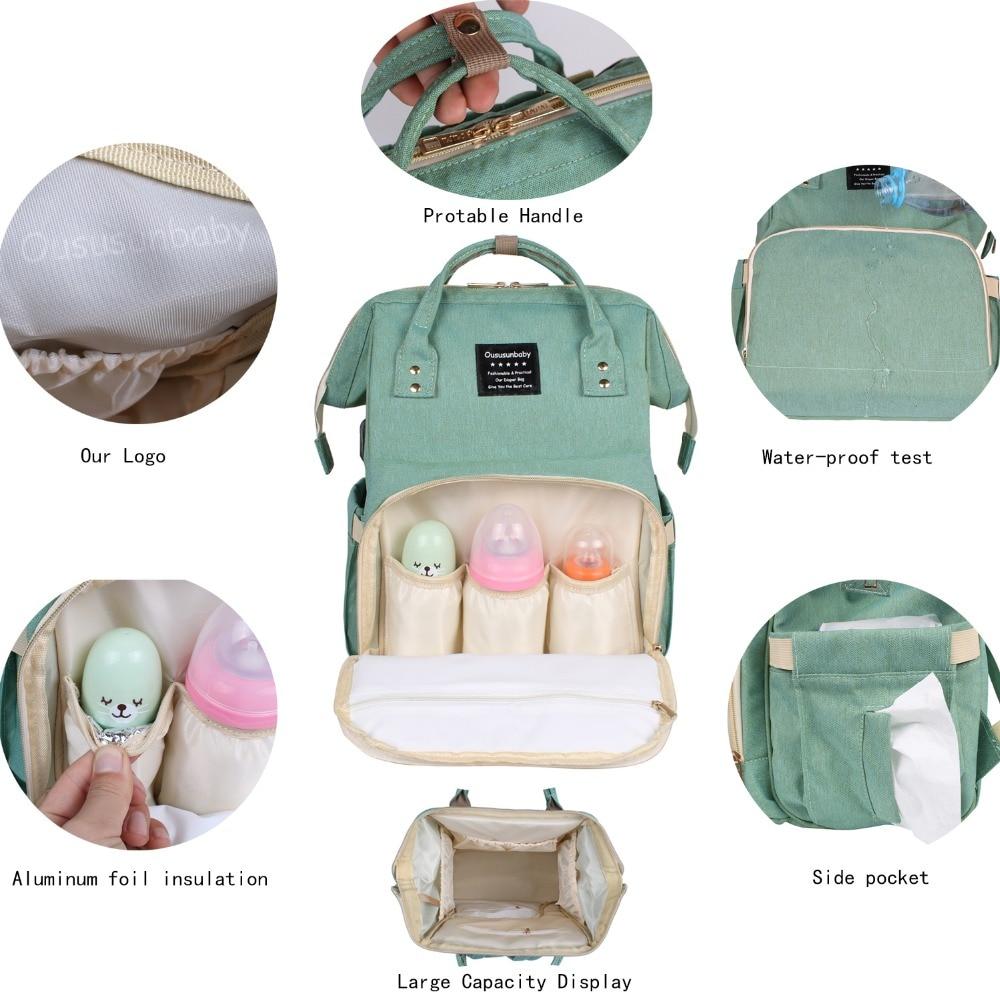 Dječja kolica za bebe u unutrašnjosti Držite topla ženska torba - Pelene i toaletni trening - Foto 3
