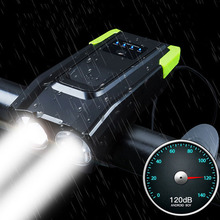 4000mAh Induction Bicycle Front Light Se