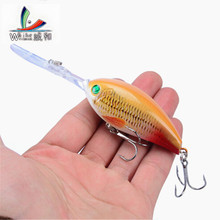 New 1 Pcs Fishing Baits 11 cm / 18g Crank Hard High Quality Artificial Baits Do The Bass Crank Bait Wobblers Fishing Equipment