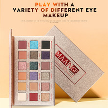 2019 Modern Girl Color Eyeshadow 18 Matte Palette Long-lasting coloring eye shadow tray Low price