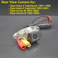 Car Rear View Camera for Opel Astra F Corsa B Vectra B 1995 1996 1997 1998 1999 2000 2001 2002 Wireless Reversing Camera CCD HD